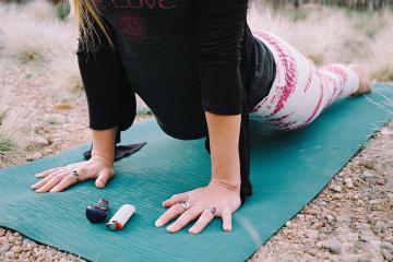 cannabis and yoga