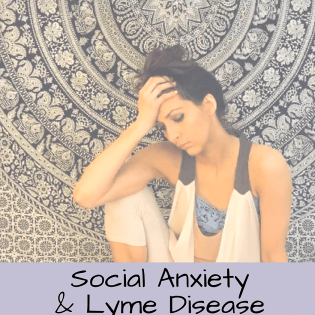 Lyme disease social anxiety herbs for lyme