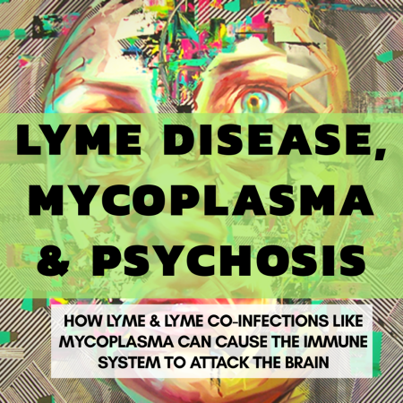 Lyme disease and Mycoplasma Can Cause Psychosis from Brain Swelling