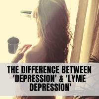 Lyme disease depression