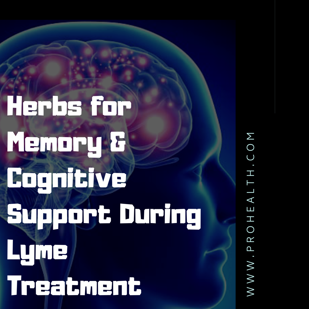 herbs for neurological Lyme disease , herbs for memory Lyme disease, herbs for brain and cognitive Lyme disease