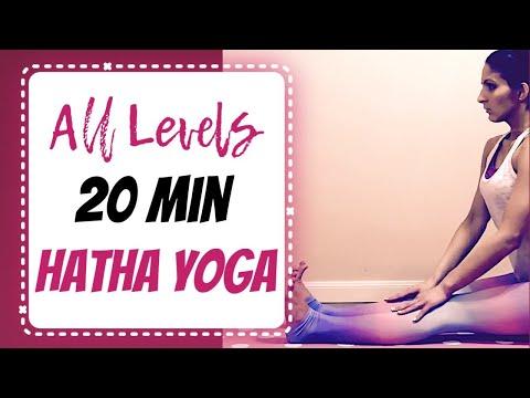 beginner 20 min hatha yoga