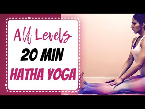 beginner 20 min hatha yoga